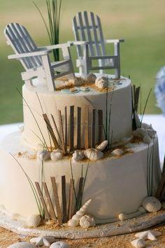 Cake: beach cake