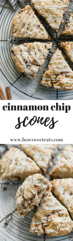 These cinnamon chip scones change the scone game! They are fluffy and delicious, spiked with cinnamon chips and perfect for breakfast. Cinnamon Chip Scones, Cinnamon Chips, Breakfast Scones, Best Breakfast, Breakfast Club, Brunch Recipes, Breakfast Recipes, Breakfast Ideas, Baking Recipes