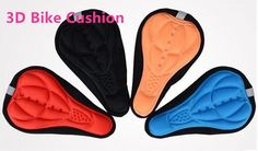 [Visit to Buy] Free Shipping ,5 Colors 3D New Bicycle Saddle Bicycle Parts  Cycling Seat Mat Comfortable Cushion Soft Seat Cover  pad #Advertisement