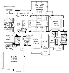 Pendleton Creek Rustic Home Plan 076D-0213 | House Plans and More