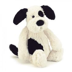 Buy Jellycat Bashful Black & Cream Puppy- This Bashful is the softest, floppiest puppy you'll ever meet, making it the perfect plush companion. Jellycat Bashful Black & Cream Puppy is available in small, medium, & large sizes. Shop new Jellycat Plush Little Red Hen, Jellycat, Small Puppies, Pet Puppy, Plush Animals, Stuffed Animals, Stuffed Toy, Gifts For Kids, Barn