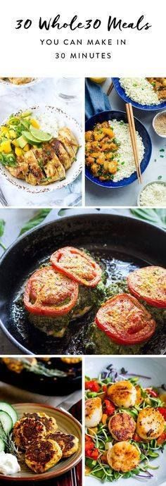 These Whole30-approv These Whole30-approved recipes go from...  These Whole30-approv These Whole30-approved recipes go from fridge to table in less than 30 minutes.. Recipe : ift.tt/1hGiZgA And My Pinteresting Life   Recipes, Desserts, DIY, Healthy snacks, Cooking tips, Clean eating, ,home dec  ift.tt/2v8iUYW