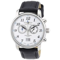 This is the sleek Zeppelin Men's Chronograph Count Zeppelin LZ127 Leather Strap Watch - 7686-1 - £249  View this item at http://www.nigelohara.com/zeppelin-mens-chronograph-count-zeppelin-lz127-76861-pid26587.html  Or view the entire range at http://www.nigelohara.com/zeppelin-watches/