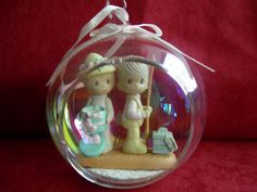 Precious Moments Christmas Ornament 1993 by TobysAtticTreasures