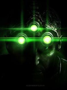 Splinter Cell by Joe-Roberts on DeviantArt All Video Games, Video Game Characters, Video Game Art, Splinter Cell Blacklist, Tom Clancy's Splinter Cell, Street Art Graffiti, Videos, Fisher, Concept Art