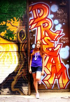 Grafiti, Red hair