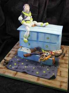 Janco's Toy Story Cake by ♥Dot Klerck....♥, via Flickr