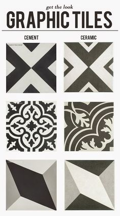 Get the look: graphic tiles (at a fraction of the price)