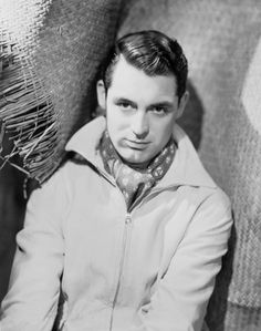 A photo of young Cary Grant, member of The International Best-Dressed Hall of Fame.