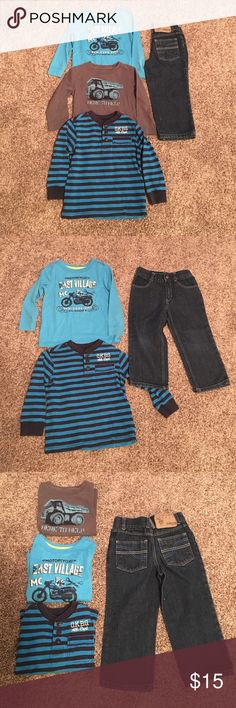 3T Boys Outfit 💕 Osh Kosh*baby gap* polo Great condition 💕 NO Stains, Rips or wear! Size 3T baby gap, polo Assn, osh kosh, and Cherokee brands. Add more listings and save up to 25%. Ships within 2 business day of purchase! Smoke free pet free home! GAP Bottoms Jeans