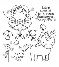 Darcie's Cling Mounted Rubber Stamps-Fairy Tales, , hi-res