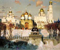 Oksana PAVLOVA - Heart of Russia. 2002. 200 Russian painters • download painting • Gallerix.ru