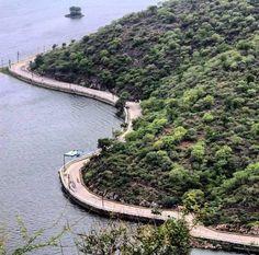 Lake road , Udaipur.