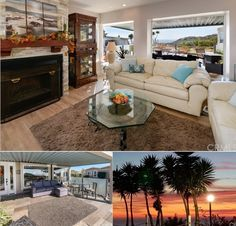 San Pedro - Enjoy ocean, bluff, hillside and sunset views from this recently remodeled home located in the 55+ resort community of Palos Verdes Shores...