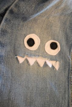 Monster jean patch