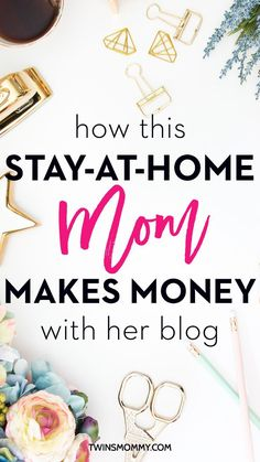 Oh my! Are you dying to be a stay-at-home mom? Why not make money at home? This is how this SAHM makes a living from blogging | stay-at-home mom making money | make money blogging