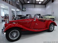DANIEL SCHMITT & CO. PRESENTS - 1954 #MG #TF Roadster - Visit www.schmitt.com or call 314-291-7000 for more details!
