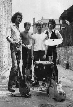 Dire Straits, possibly in Newcastle where Mark Knopfler is from!