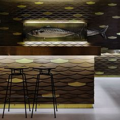 Café-Bar In Thessaloniki, Greece by interior-architect Minas Kosmidis....