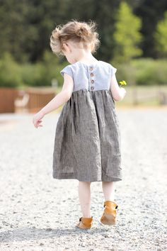 Geraniums and Natty Janes for Two - Geranium Dress and Natty Jane leather baby shoes // Delia Creates - New Baby Dress, Little Girl Dresses, Girls Dresses, Dress Girl, Sewing Kids Clothes, Cheap Kids Clothes, Little Girl Fashion, Fashion Kids, Toddler Dress