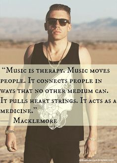 This is one of the most accurate statements about music I've ever seen.                                                                                                                                                                                 More
