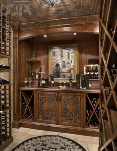 Put a wet bar in your next entertainment space. An architect can help you create memories for your home.