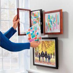 Art Dynamic Frame, Children's Artwork Frame, Pocket Frame