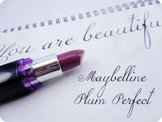 Maybelline ColorShow Plum Perfect Lipstick Maybelline Lipstick, Lipsticks, Perfect Lipstick, Plum, Swatch, Beauty, Maybelline Lip, Lipstick, Beauty Illustration