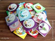 Открытка 8 марта Квиллинг Конвертики для сертификатов Квиллинг Бумага Бумажные полосы фото 1