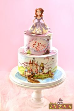 Sofia The First Cake - Cake by Nasa Mala Zavrzlama