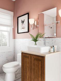 Medium size of vintage kitchen sink pink bathroom sink pedestal sink vintage pink bathroom ideas Bathroom Sinks For Sale, Small Bathroom Renovations, Compact Bathroom, Bathroom Layout, Dream Bathrooms, Bathroom Storage, Modern Bathroom, Master Bathroom, Bathroom Vanities
