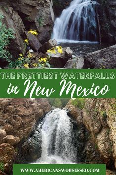 New Mexico Waterfalls: You wouldn't think a place like New Mexico has a lot of water features but this list of 16 incredible waterfalls in New Mexico proves there is more to New Mexico than deserts. Usa Travel Guide, Travel Usa, Travel Guides, Budget Travel, Travel Tips, Taos Ski Valley, Mexico Resorts, Road Trip Usa, United States Travel