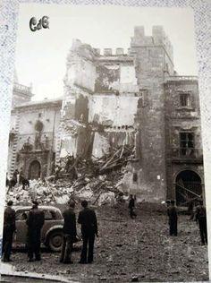 Palacio Revillegigedo en ruinas.