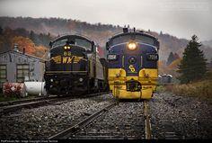 RailPictures.Net Photo: CO 7094 Chesapeake & Ohio (C&O) EMD F7(A) at Cheat Bridge, West Virginia by Chase Gunnoe