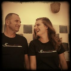 Le T-shirt ideate dall'artista livornese Luca Bellandi.