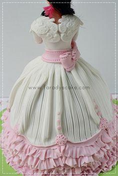 Barbie Doll Princess  Cake