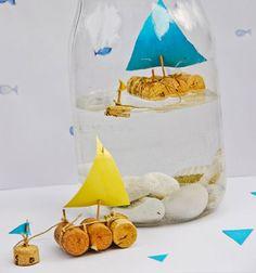 ❤ Parafadugó hajók befőttes üvegben ❤Mindy - kreatív ötletek és dekorációk minden napra