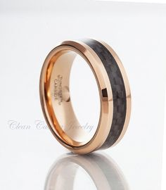 Personalized Engraved Tungsten Carbide Ring by CleanCastingJewelry, $59.99