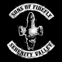 """""""Sons of Firefly"""" by robotrobotROBOT The crew gets a Samcro make over. Serenity Now, Firefly Serenity, Firefly Series, Vintage T-shirts, Joss Whedon, Geek Out, Stargate, Movies Showing, Live Action"""