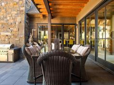 - Outdoor Kitchen Pictures From HGTV Dream Home 2014 on HGTV HOME located in Truckee California near Lake Tahoe