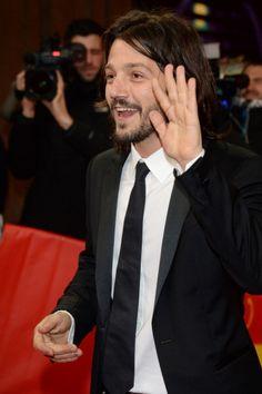 Diego Luna desfila en Alfombra de la Berlinale