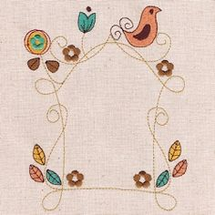 Spring Frame 5 - 4 Sizes! | What's New | Machine Embroidery Designs | SWAKembroidery.com Abigail Michelle