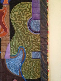 Quilting: Guitar Art Quilt