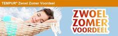 Slaaptijd | Kussens, Matrassen, Bedden, Tempur, zomeraanbieding tweede matras halve prijs.