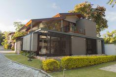 Arquitetura tradicional é revisitada em casa catarinense (Foto: Pedro Caetano / divulgação)   Arquitetura alemã inspira projeto: casa exibe uma releitura do estilo enxaimel