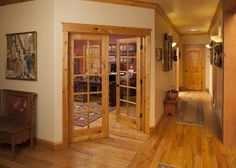 1510 Interior French Door, Pine Interior French Door,