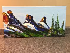 20x10 Acrylic Original Artwork, Original Paintings, Three Sisters, Art Work, The Originals, Artwork, Work Of Art