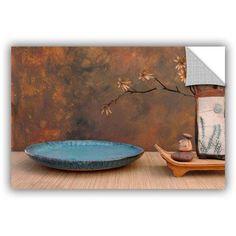 ArtWall Elena Ray Zen Still Life Art Appeals Removable Wall Art, Size: 32 x 48, Blue