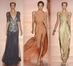 Possible party dresses for the celebration; Jenny Packham