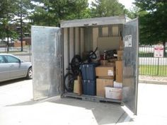 Actual customer describes the process of moving with a portable storage container